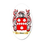 Abbey Oval Car Magnet