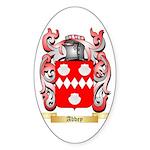 Abbey Sticker (Oval)