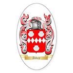 Abbey Sticker (Oval 50 pk)