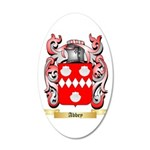 Abbey 20x12 Oval Wall Decal