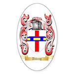Abbing Sticker (Oval 50 pk)