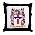 Abbing Throw Pillow