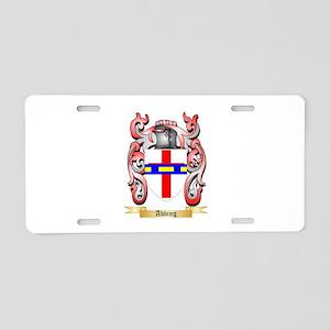 Abbing Aluminum License Plate
