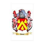 Abbitt Sticker (Rectangle 50 pk)