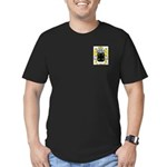 Abbot (English) Men's Fitted T-Shirt (dark)