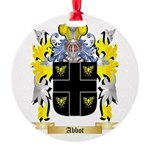 Abbot (English) Round Ornament