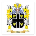 Abbot (English) Square Car Magnet 3