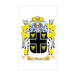 Abbot (English) Sticker (Rectangle)