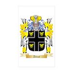 Abbot (English) Sticker (Rectangle 50 pk)