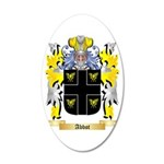Abbot (English) 35x21 Oval Wall Decal