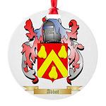 Abbot Round Ornament
