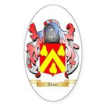 Abbot Sticker (Oval 10 pk)