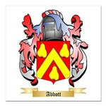 Abbott Square Car Magnet 3