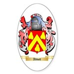 Abbott Sticker (Oval 50 pk)