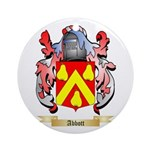 Abbott Ornament (Round)