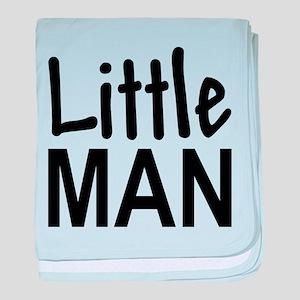 Little Man: baby blanket