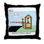 Service Throw Pillow