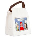 Rain Dance Canvas Lunch Bag
