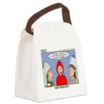 Rain Dance Canvas Lunch Bag