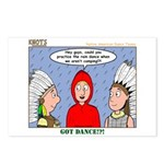 Rain Dance Postcards (Package of 8)