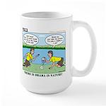 Reptile Study Large Mug