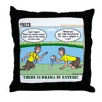 Reptile Study Throw Pillow