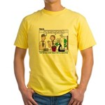 Plant Study Yellow T-Shirt