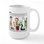 Plant Study Large Mug