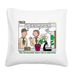 Plant Study Square Canvas Pillow