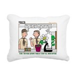 Plant Study Rectangular Canvas Pillow