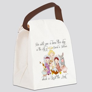 Baby Jesus Canvas Lunch Bag