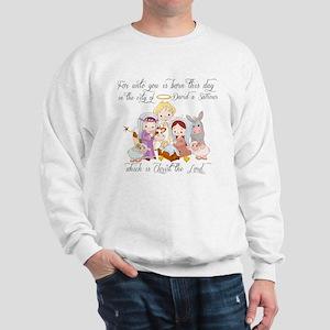 Baby Jesus Sweatshirt