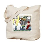 Pioneering in Space Tote Bag