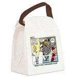 Pioneering in Space Canvas Lunch Bag