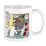 Pioneering in Space Mug