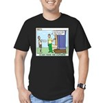 Forestry Men's Fitted T-Shirt (dark)