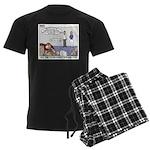 Fingerprinting Men's Dark Pajamas