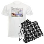 Fingerprinting Men's Light Pajamas