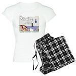 Fingerprinting Women's Light Pajamas