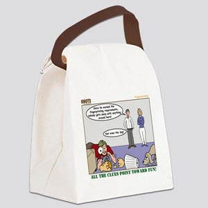 Fingerprinting Canvas Lunch Bag