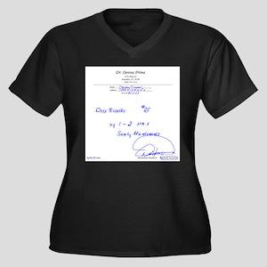 Prescription For Sanity Plus Size T-Shirt