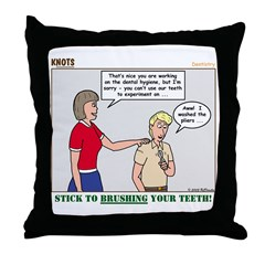 Dentistry Throw Pillow