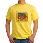 Camp Totems Yellow T-Shirt