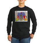 Camp Totems Long Sleeve Dark T-Shirt