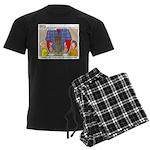 Camp Totems Men's Dark Pajamas