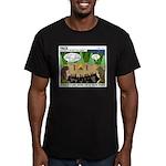 Camp Sick Men's Fitted T-Shirt (dark)