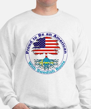 American-Swedish Roots Sweatshirt