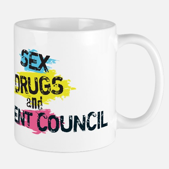 Sex Drugs And Student Council Mug