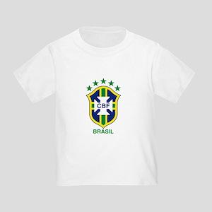 brazil soccer logo Toddler T-Shirt
