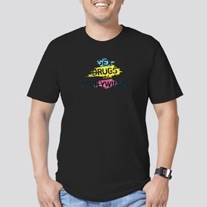 Sex Drugs And Tiddlywinks Men's Fitted T-Shirt (da